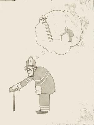 Oldie Fireman - sm